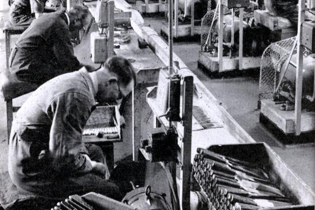 George Wostenholm and Son Ltd., cutlery manufacturers, Washington Works