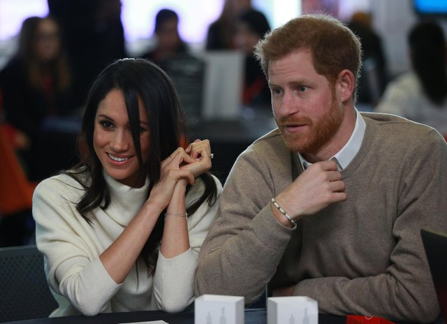 Prince Harry and Meghan Markle (Photo by Ian Vogler - WPA Pool/Getty Images)