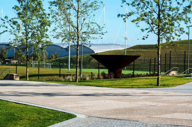 Sheffield's new Olympic Legacy Park in Attercliffe on the site of the former Don Valley Stadium