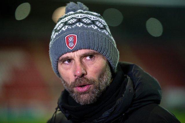 Rotherham United manager Paul Warne is hopeful that there will be new additions to his squad before the transfer window closes. Photo: Bruce Rollinson.