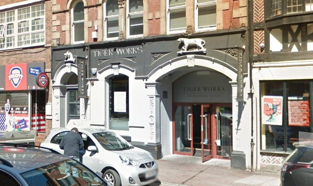 Tiger Works on West Street in Sheffield city centre (pic: Google)
