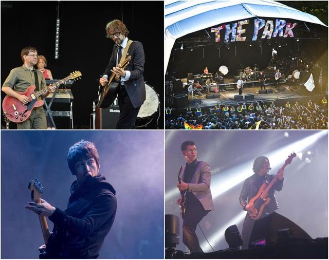 Pulp and the Arctic Monkeys in Glastonbury