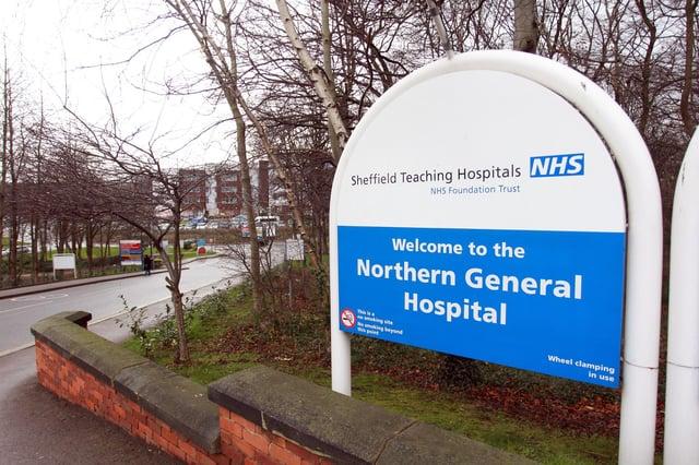 Northern General Hospital, Sheffield.