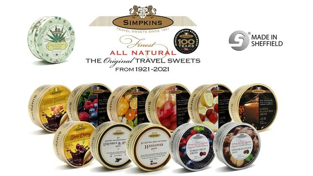 Win a year's supply of Simpkin's sweets