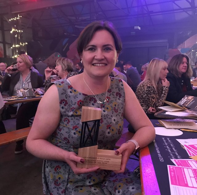 Louise Driffield - Launchpad Rising Star Business of the Year 2019 - Sheffield City Region.
