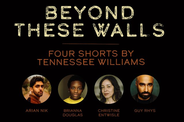 The cast of Beyond These Walls, an evening of Tennessee Williams plays at the Crucible Theatre