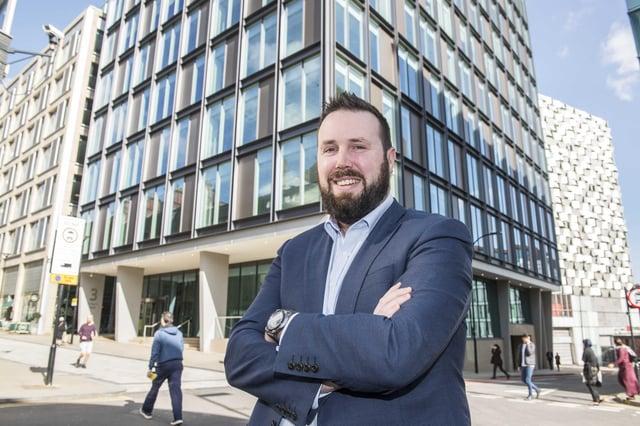 Edward Highfield, head of regeneration at Sheffield City Council