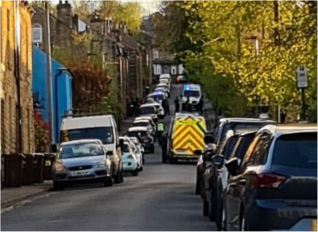 Police were called to Carr Road, Walkley, following a disturbance yesterday