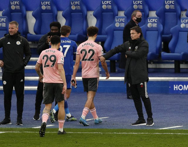 Sheffield United were heavily beaten in their first outings without former manager Chris Wilder: Darren Staples/Sportimage