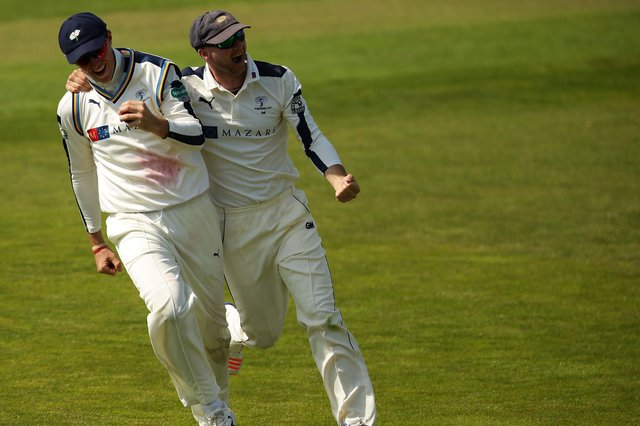 Joe Root and Adam Lyth (Photo by Daniel Smith/Getty Images)