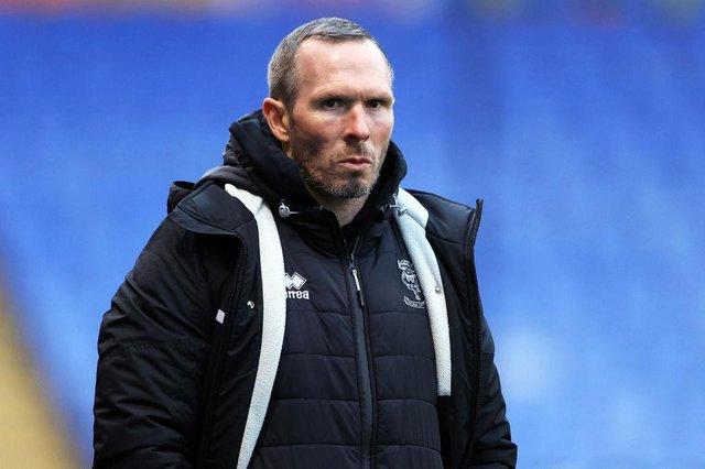 Lincoln City boss Michael Appleton. Photo by Naomi Baker/Getty Images