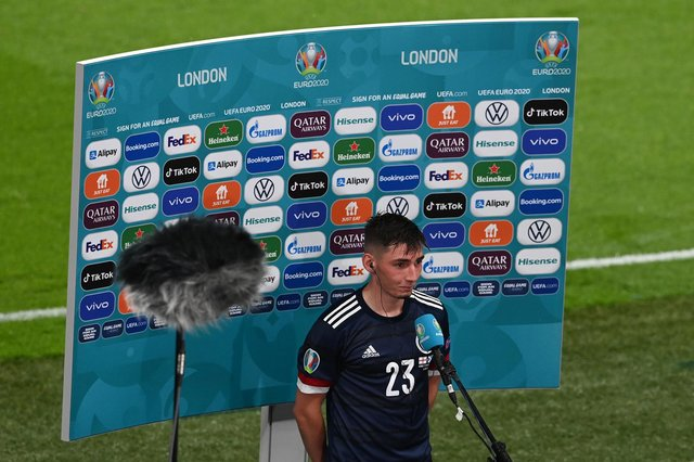 Billy Gilmour is out of Scotland's clash with Croatia - which could increase John Fleck's chances of playing (Facundo Arrizabalaga - Pool/Getty Images)