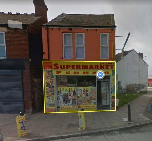 The shop.