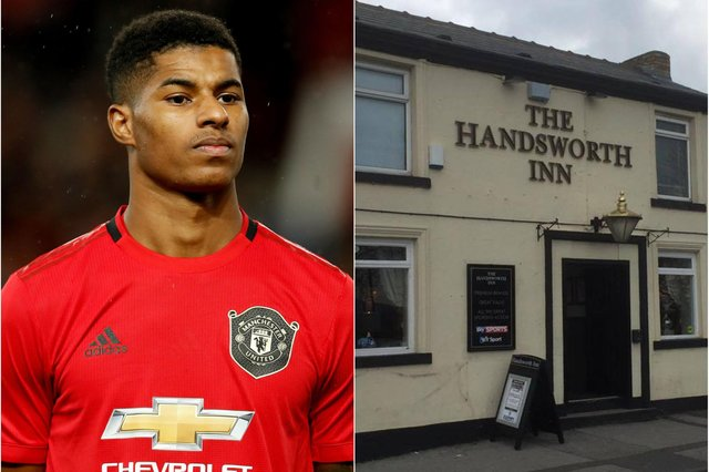 Marcus Rashford has paid tribute to the Handsworth Inn - PA