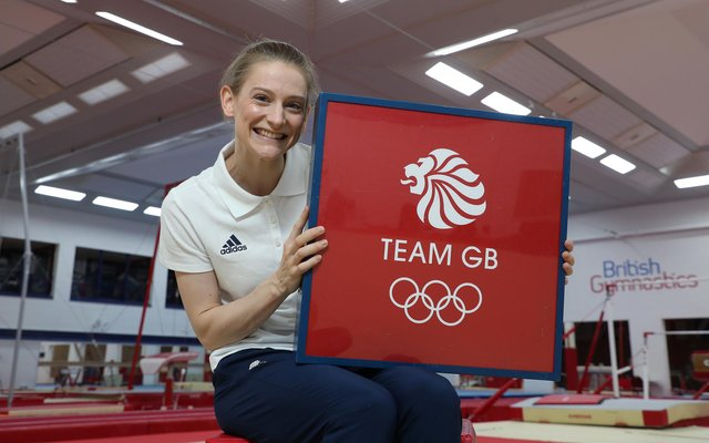 Sheffield-based trampolinist Bryony Page.
