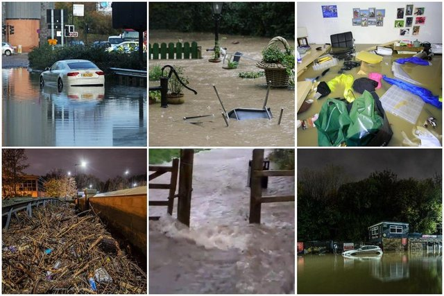 Sheffield and South Yorkshire were hit by floods in 2019 after a month's worth of rain fell in just one day on November 7