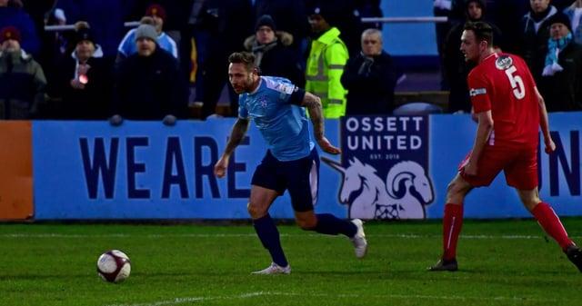 Ossett United will take on a Sheffield Wednesday XI next week.