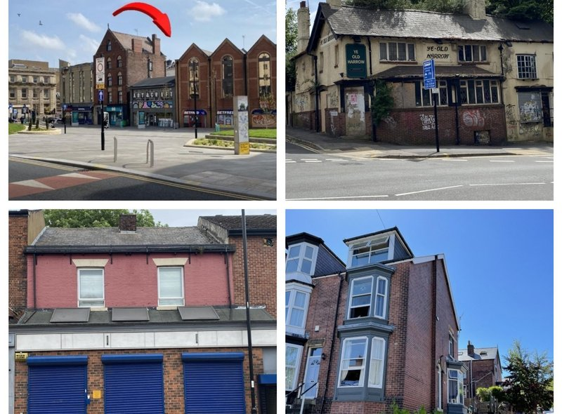 """The auction featured lots including a pub, offices, residential property and land. """"There's no particular theme, whatever comes in we do,"""" said auctioneer Adrian Little."""