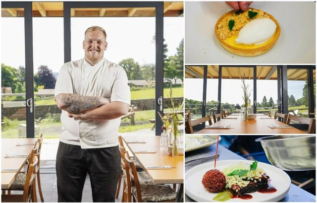 The new restaurant at Whirlow Hall Farm is set to open on Saturday, with Luke Rhodes (pictured) as head chef