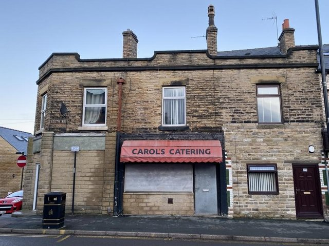 The former shop in Walkley will be auctioned next month.