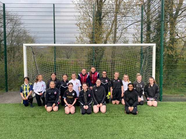 The items were donated to raise much-needed funds for Steel City Wanderers LFC U13s