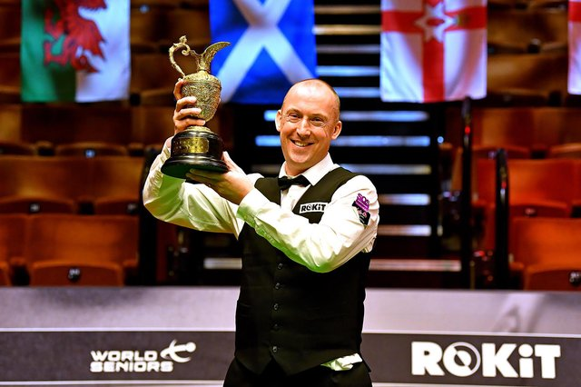 David Lilley was playing in the final of the event for the first time. Photo: Andy Chubb.