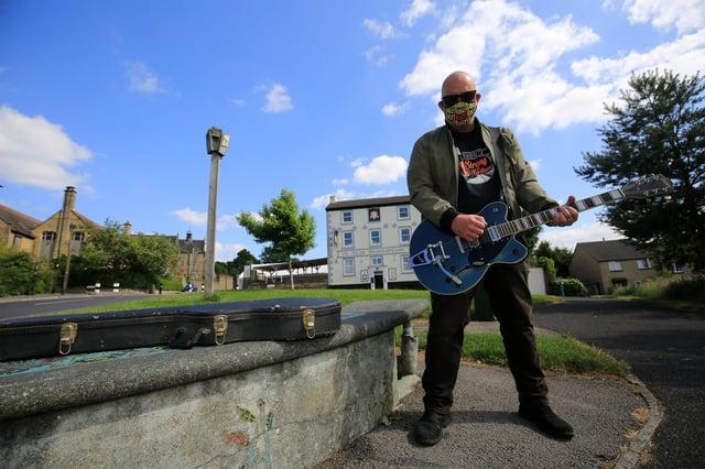 Musician Hugh Ruiz, Sheffield. Picture: Chris Etchells