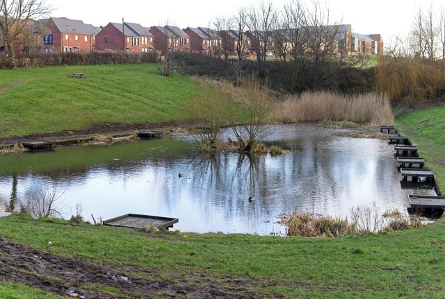 Arbourthorne Pond, Sheffield.