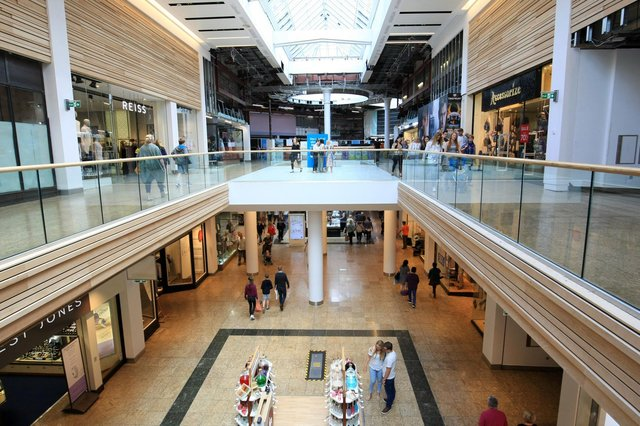 Meadowhall says sales have been strong since reopening, despite footfall being down due to social distancing