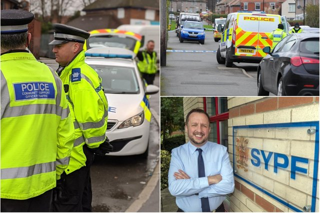 South Yorkshire's Police Federation chairman, Steve Kent