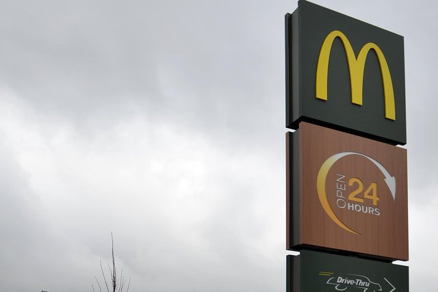 McDonald's signs. Will more be coming to Sheffield?