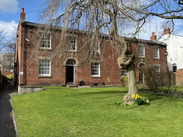 These two most attractive Georgian Grade 2 listed properties will be auctioned on May 25.