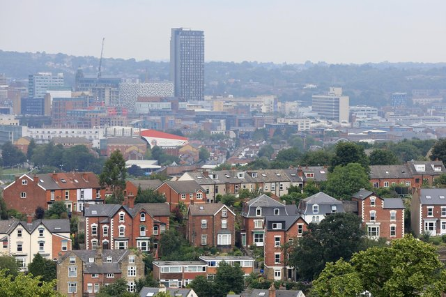 Looking over Sheffield from Meersbrook Park. Picture: Chris Etchells
