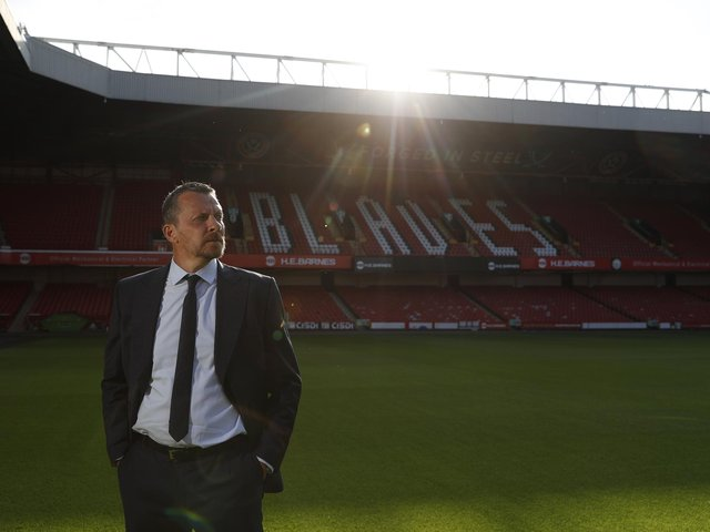Slavisa Jokanovic the new manager of Sheffield Utd during his press afternoon at Bramall Lane, Sheffield. Picture date: 2nd July 2021. Picture credit should read: Darren Staples / Sportimage