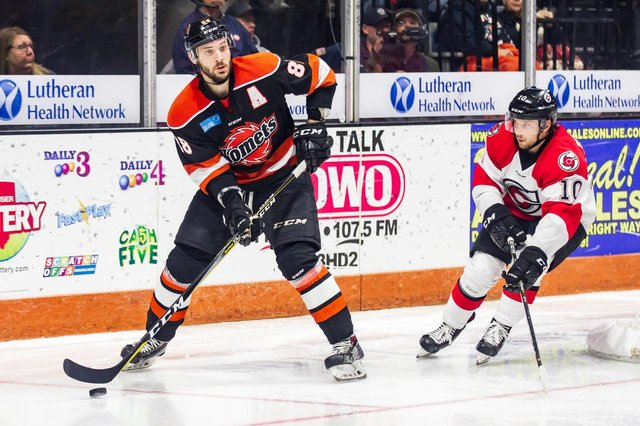 Justin Hodgman has signed for Sheffield Steelers
