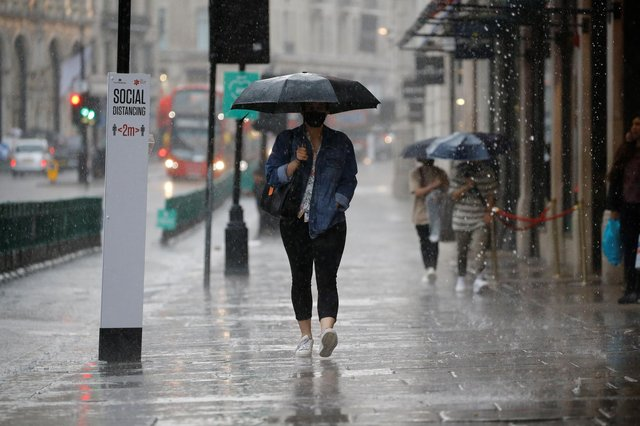 Sunshine and showers - some of which may be heavy - are forecast for Sheffield today.