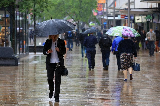 Heavy rain is expected in Sheffield. Picture: Chris Etchells