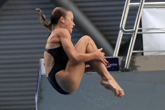 14-year-old Sheffield girl Maisie Bond has won gold at the European Junior Diving Championships. Picture: Chris Etchells