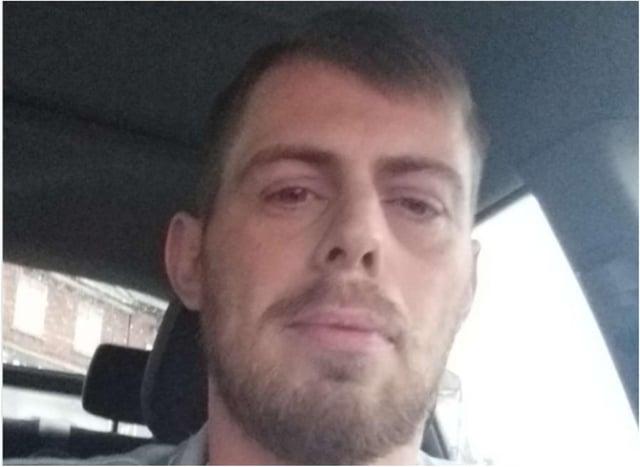 Murder victim Danny Irons