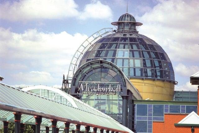 Meadowhall was at its full capacity on bank holiday Monday