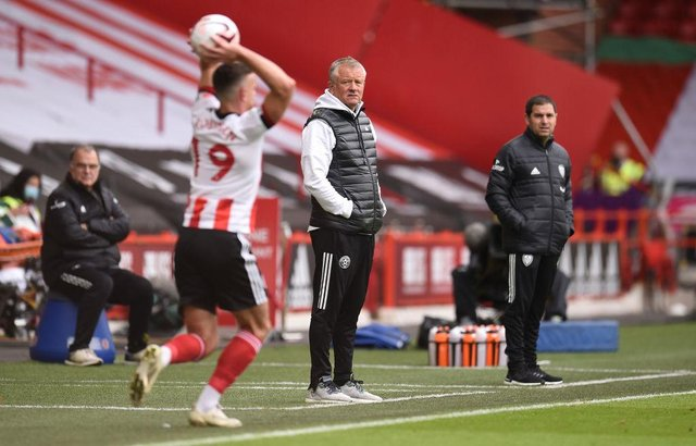 Sheffield United manager Chris Wilder is now preparing for life without key central defender Jack O'Connell through injury for much of the season. (Photo by Oli Scarff - Pool/Getty Images)