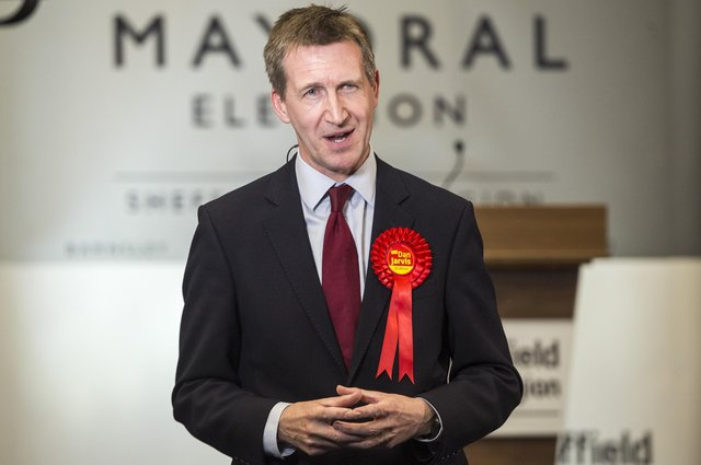 South Yorkshire mayor Dan Jarvis