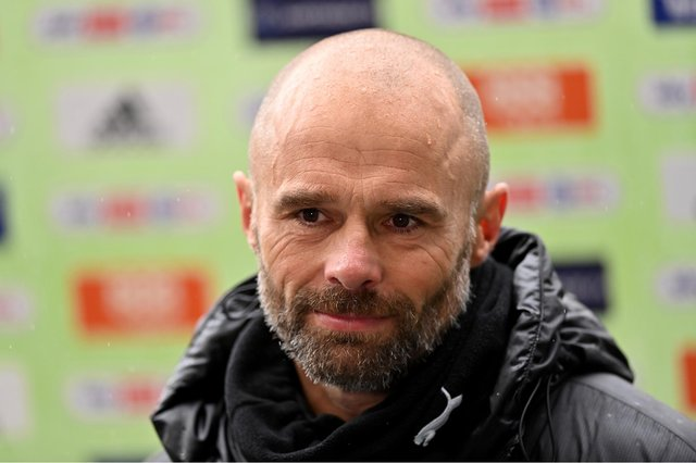 Paul Warne, manager of Rotherham United.