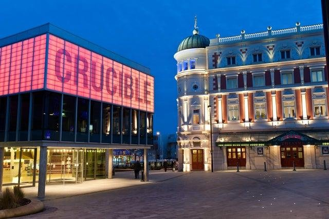The Crucible and the Lyceum Theatre in Sheffield