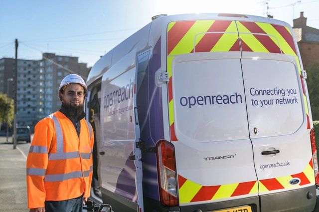 Around 150,000 more homes and businesses across South Yorkshire are set to benefit from a broadband boost in the region of £60m[1] thanks to Openreach – the UK's largest broadband network provider.