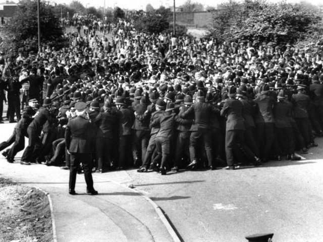 The 1984 Battle of Orgreave is one of the best-known flashpoints of the miners' strike, and is still a major focus of controversy over policing methods against NUM pickets
