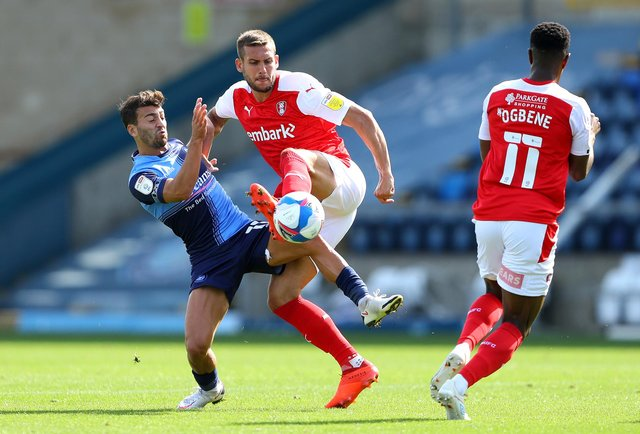 Rotherham United's Joe Mattock could be back to face Middlesbrough. (Photo by Warren Little/Getty Images)