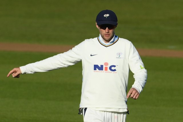 Yorkshire's Joe Root was out for five againt Sussex