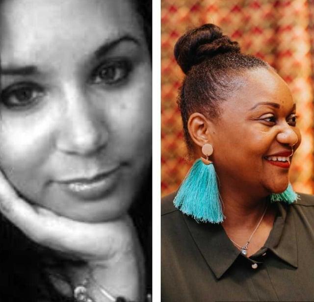Annalisa Toccara and Tchiyiwe Chihana.