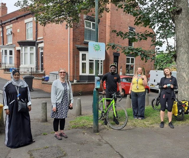 Beat the Street in High Hazels Park with Jo Maher and Jimi Sayoosh